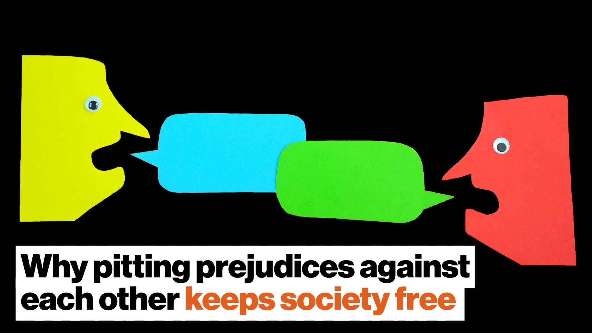 Why pitting prejudices against each other keeps society free