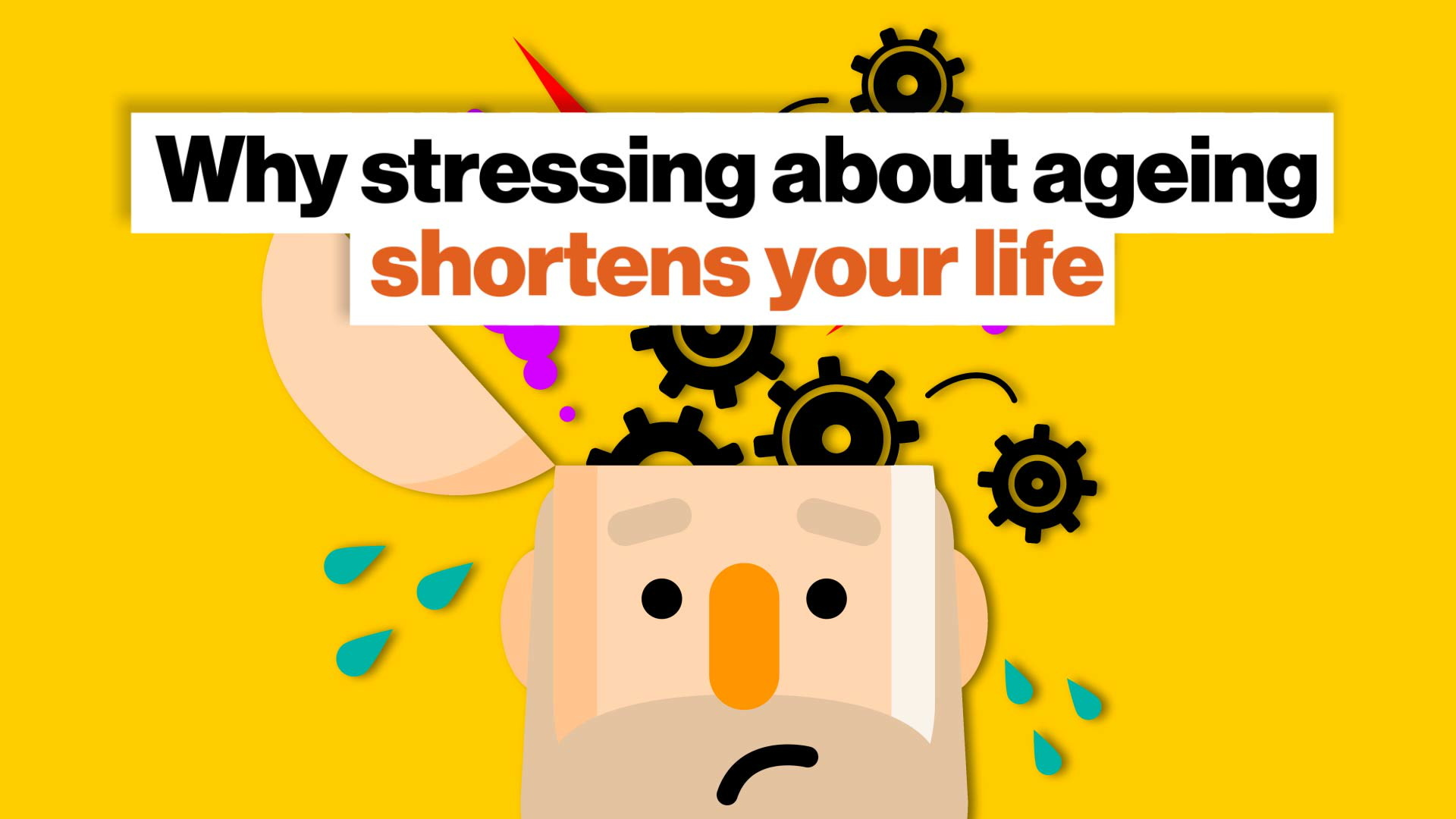 Stressing about aging damages your brain, shortens your life