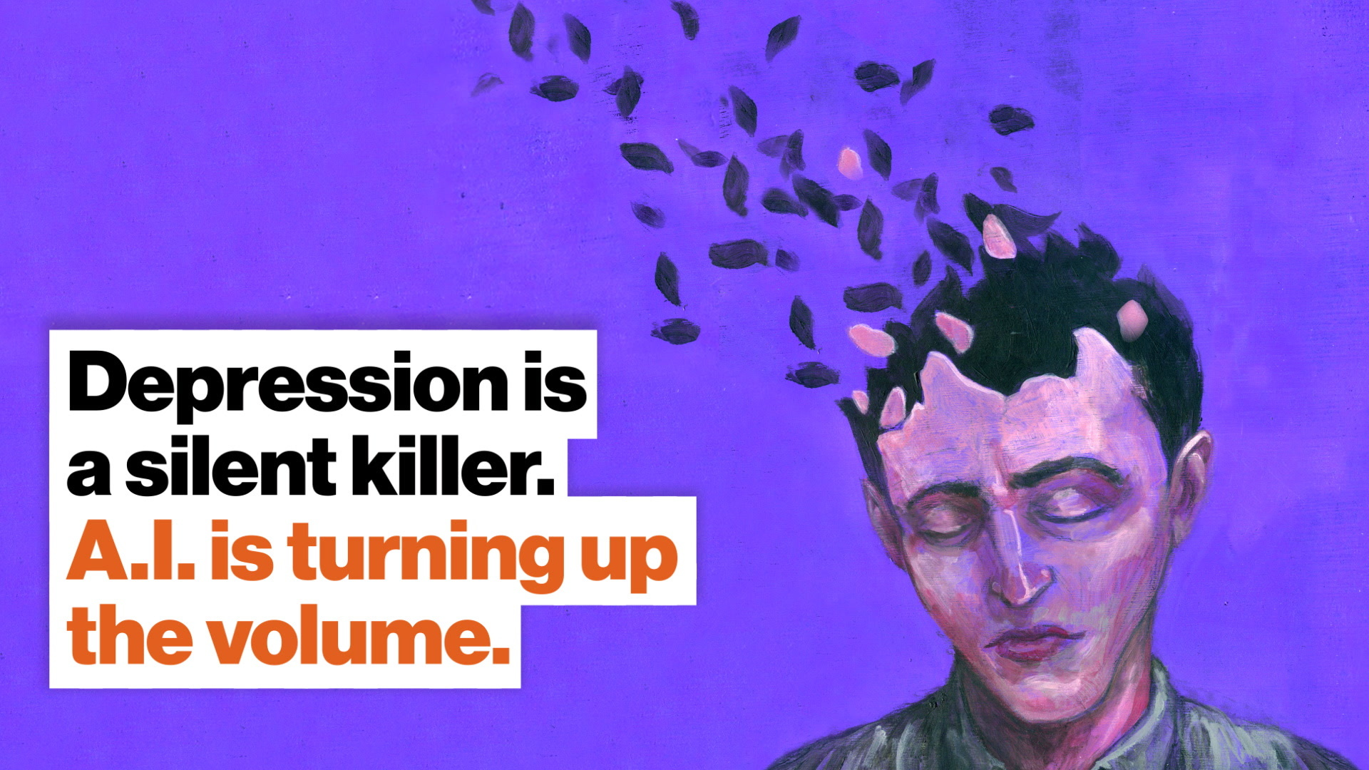 Depression is a silent killer. A.I. is turning up the volume.