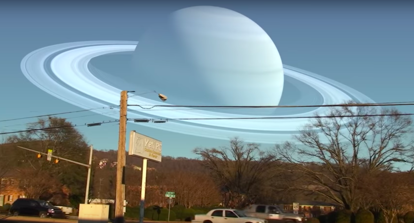Watch how this video brilliantly compares planet sizes