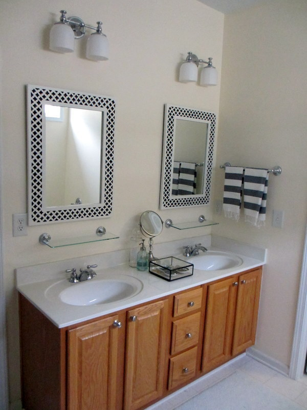 Bathroom Before And After Bath Vanity Transformation The Snug
