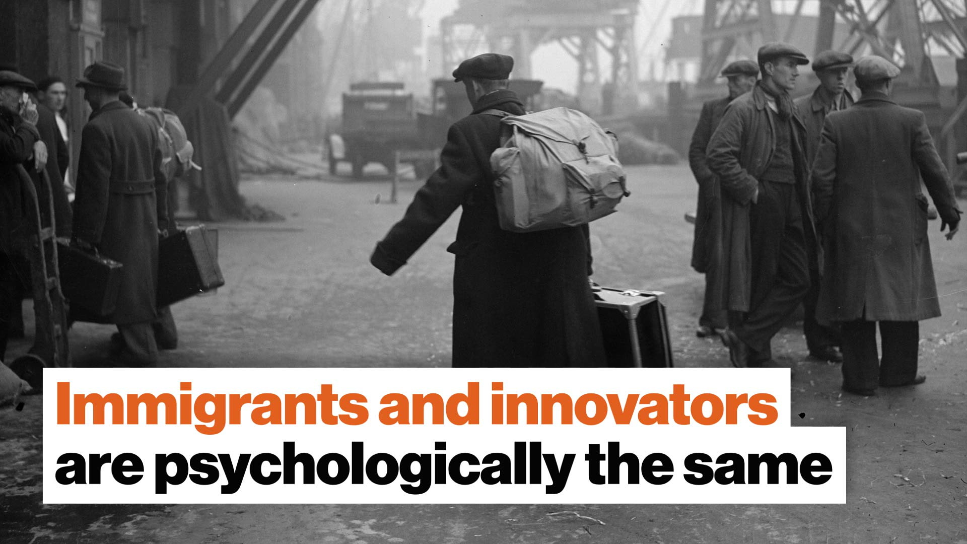 Great risk for great gain: Immigrants and innovators are psychologically the same