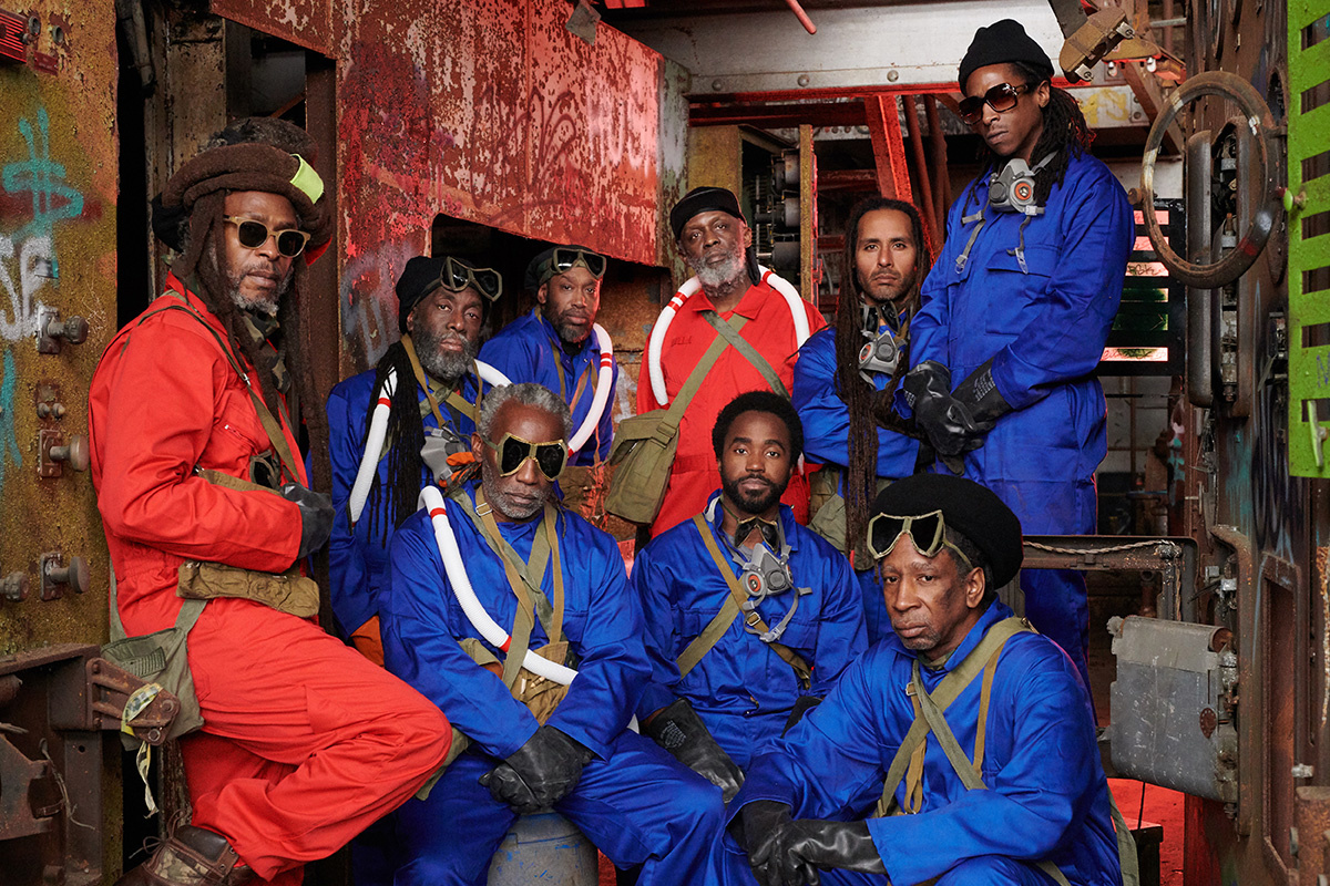 Steel Pulse Pays Tribute to the Memory of Utopian Pinnacle on  Cry Cry Blood  (premiere)