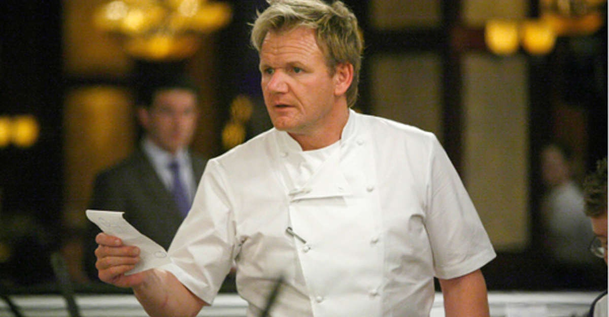 A struggling cook asked Gordon Ramsay a personal question