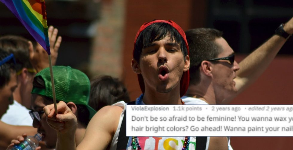 Gay men gave straight guys relationship advice and they'd be