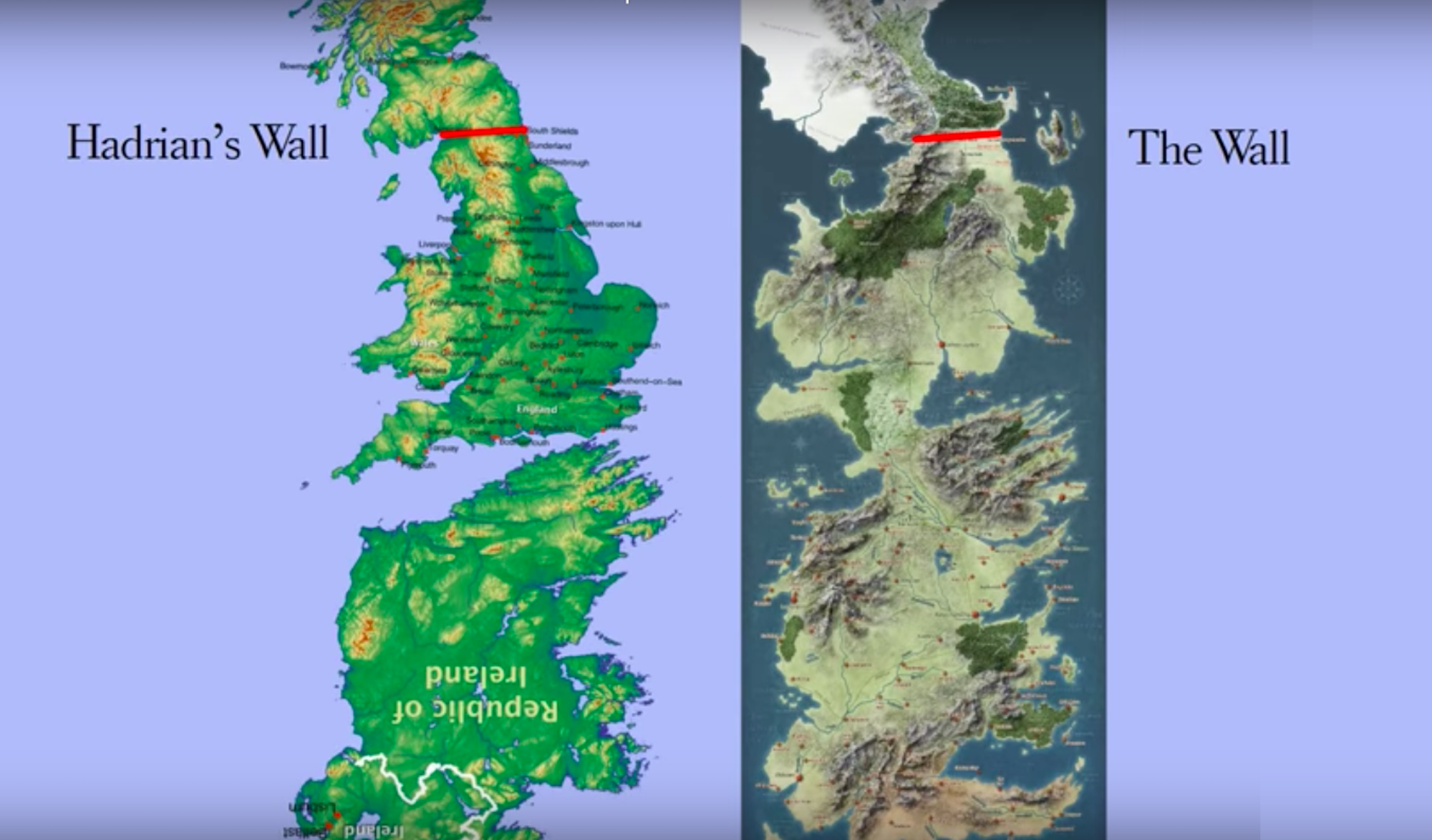 Map Of Ireland On Your Face.Got Map Westeros Is Actually Britain Plus Ireland Upside Down