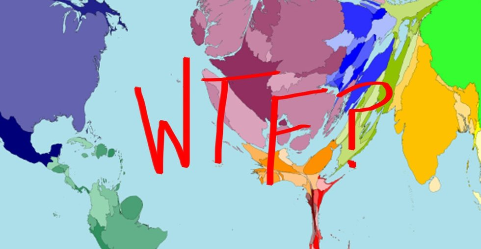 A map of the world that'll make you do *at least* a