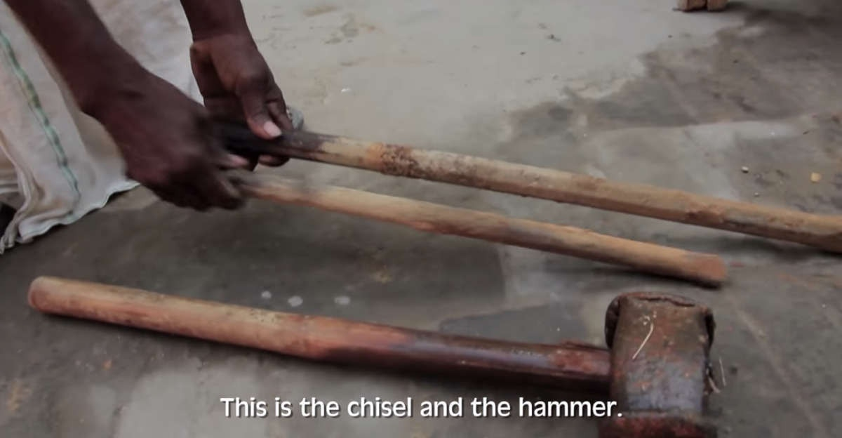 They told him it was impossible  It took him a hammer, a chisel, and