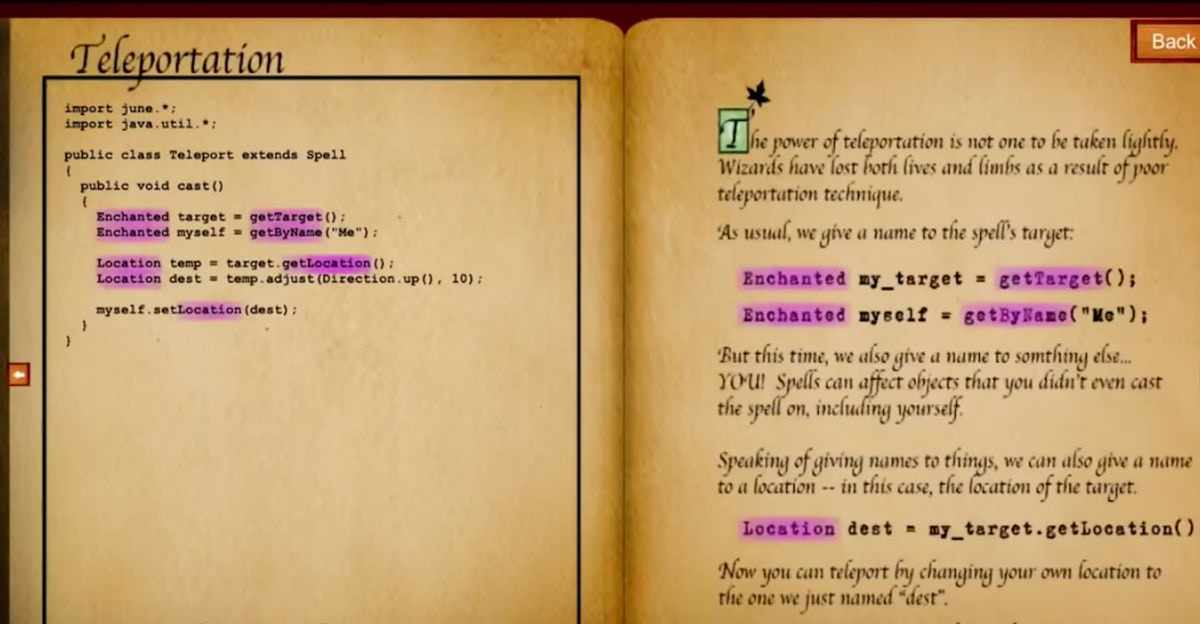 She turned code into 'spells,' and the results are very Harry Potter
