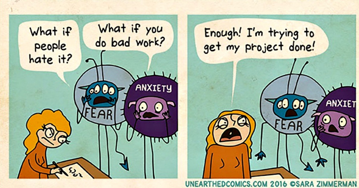 Anxiety Affects Everyone Differently These Comics Offer Some Great Coping Tips Upworthy