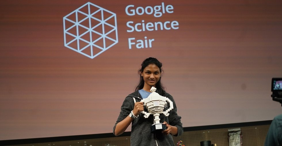 This science fair winner is taking on global drought using