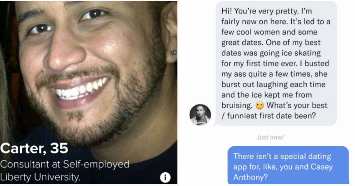 Tinder deleted George Zimmerman's profile and banned him