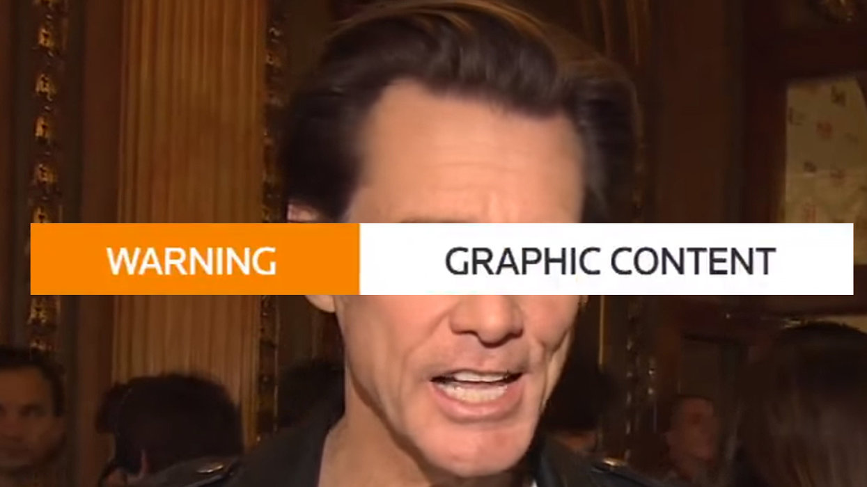 Jim Carrey draws and shares grotesque graphic depiction of Alabama Gov. Ivey being aborted