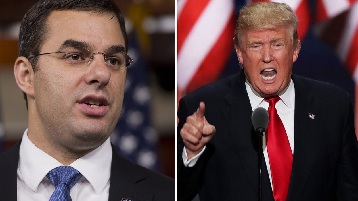 Justin Amash faces intense blowback after Trump impeachment claims — then Trump hits back