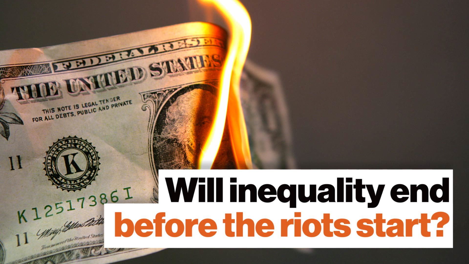 Why inequality is a ticking time bomb – for poor and rich