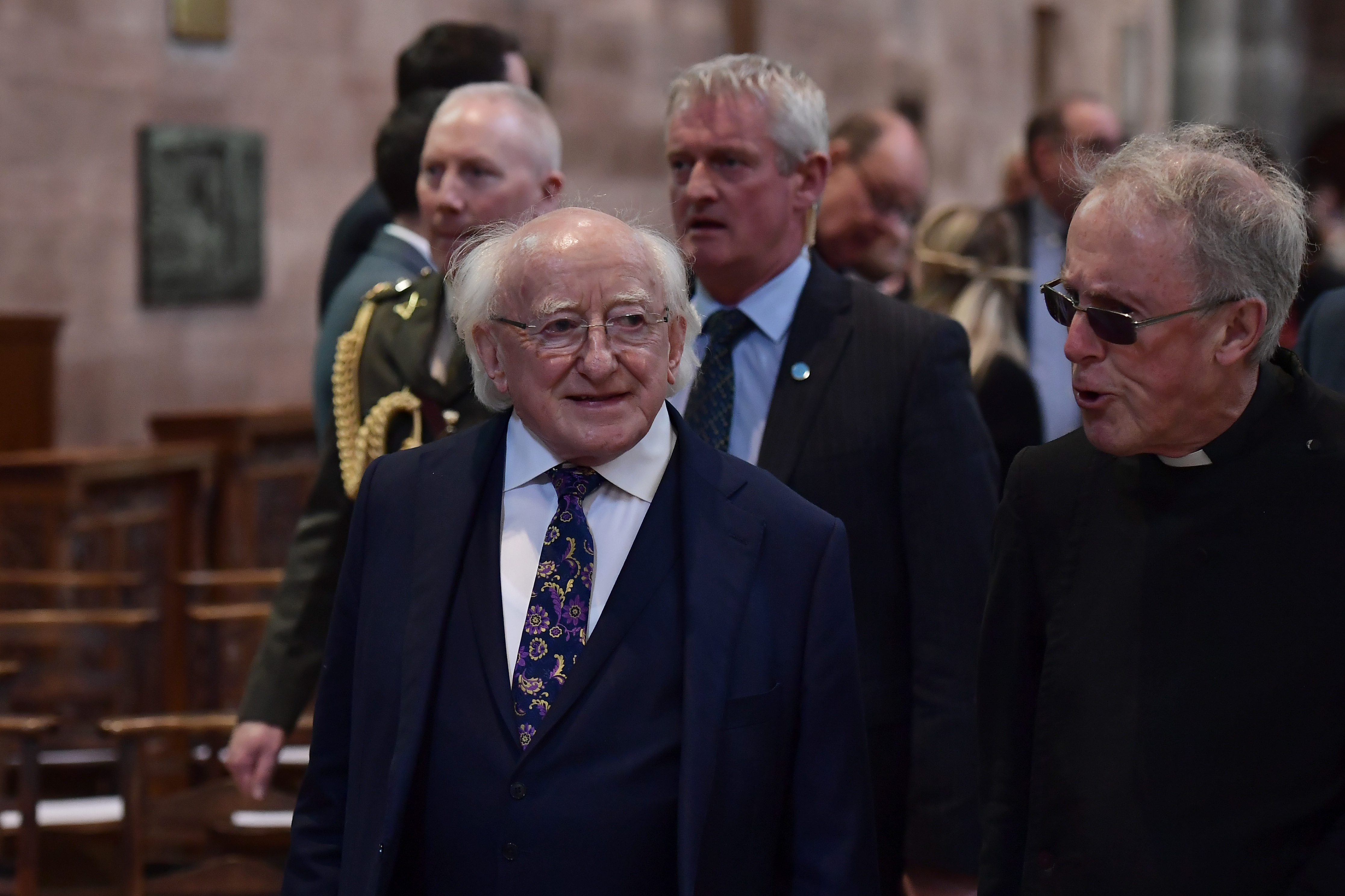 You weren t born just to be  useful,' Irish president tells students