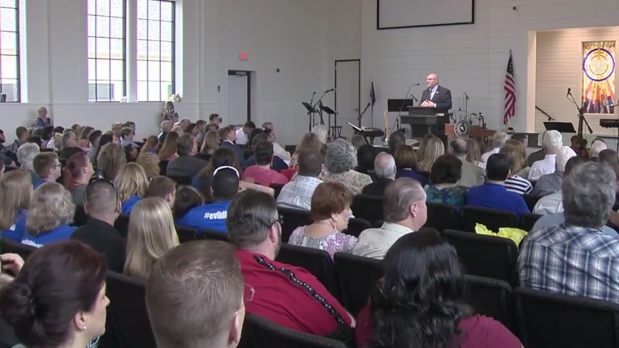 Sutherland Springs Baptist Church dedicates new sanctuary, honors victims killed in Texas' deadliest massacre