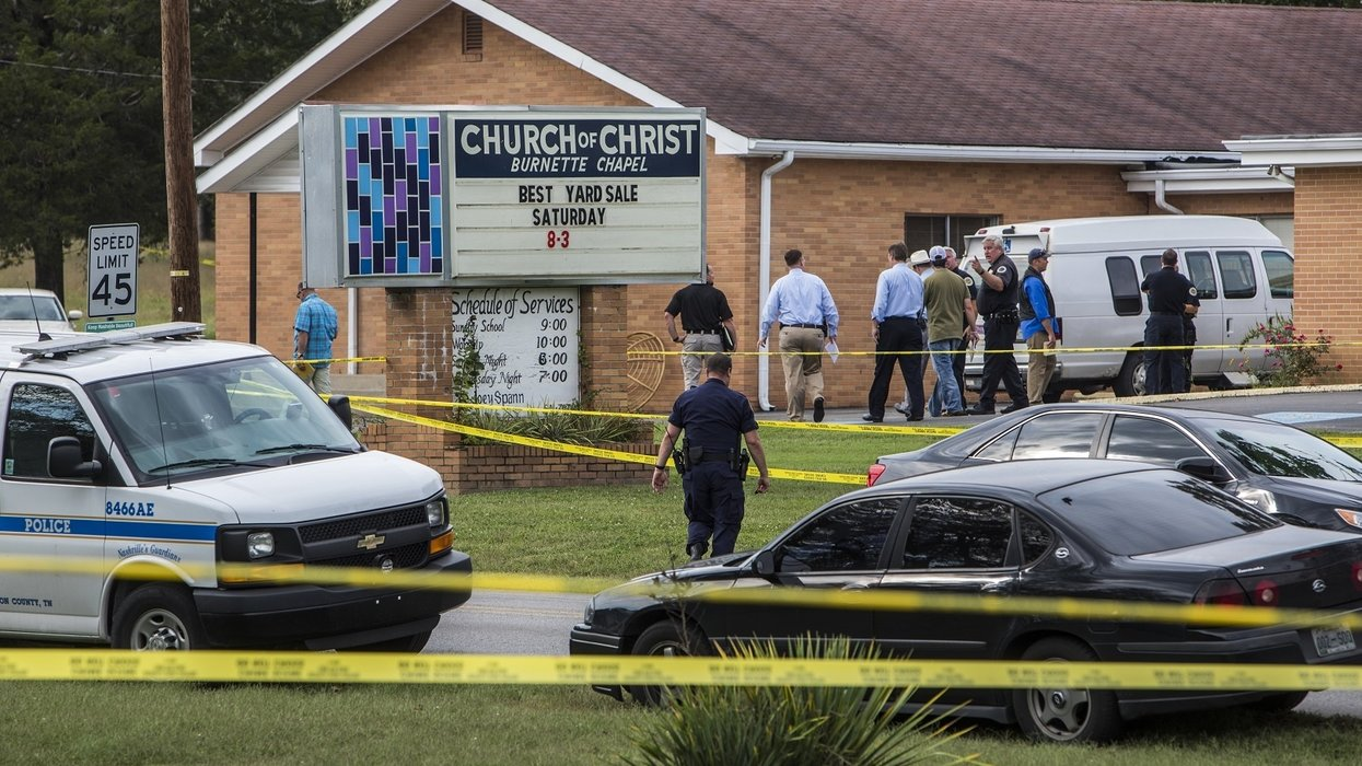Man charged with 2017 church shooting reportedly wanted to kill 'a minimum of 10 white churchgoers'
