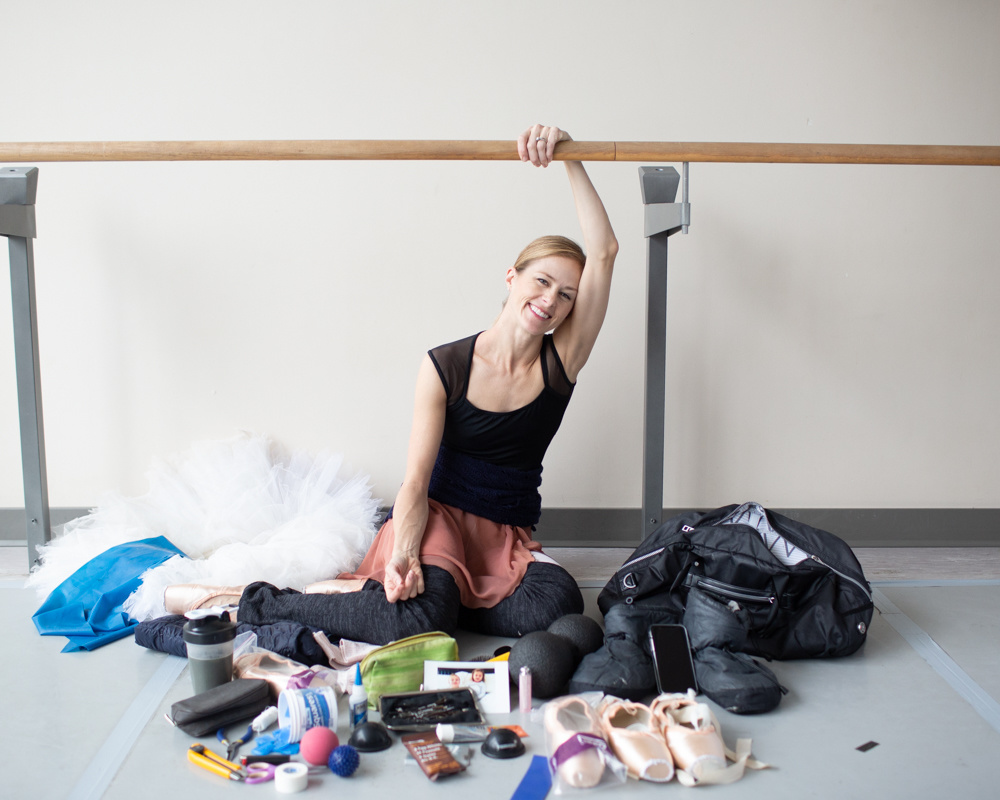 National Ballet of Canada Principal Heather Ogden Keeps Her Dance Bag Fully Stocked