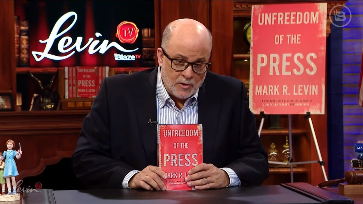 'Unfreedom of the Press': Mark Levin's new book soars to top of Amazon's best-seller list