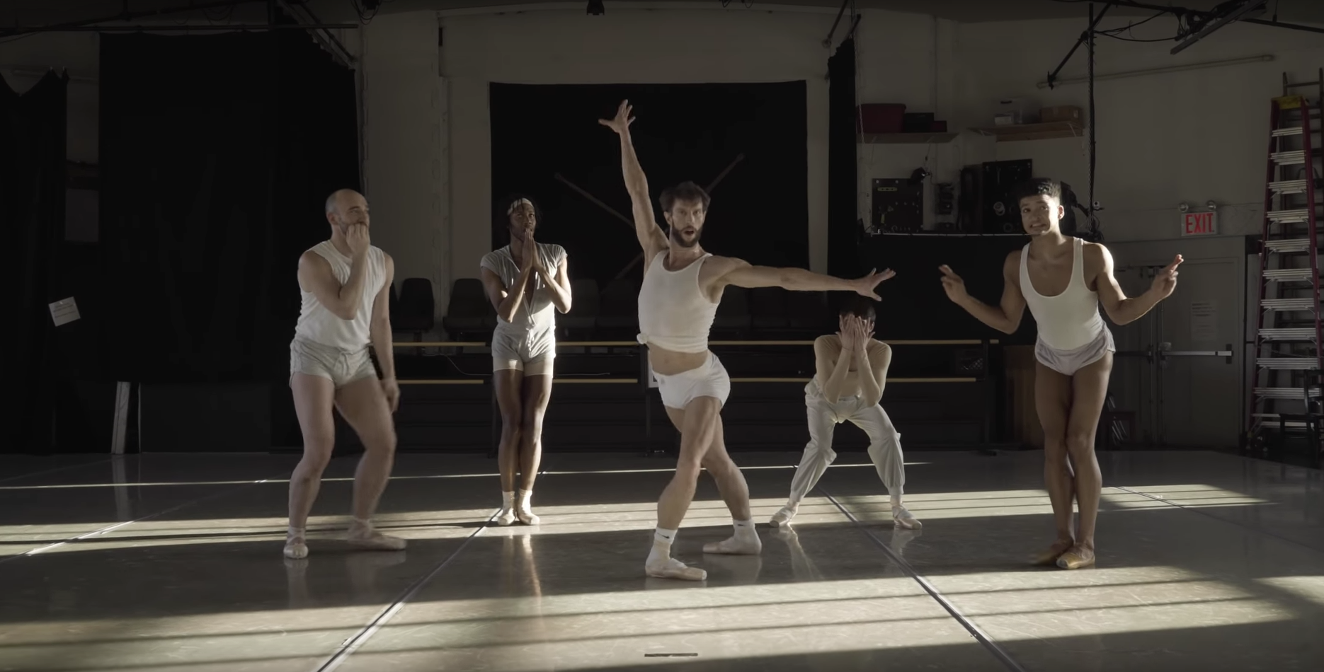 James Whiteside's Unapologetic New Music Video is Custom-Made for Ballet Insiders