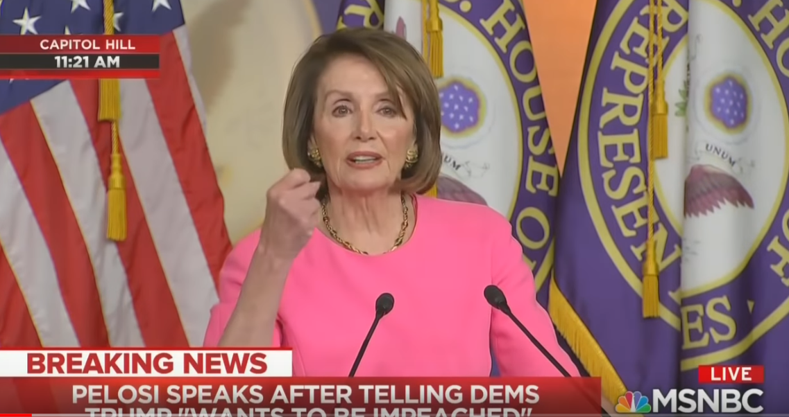 Do Y'all See What Nancy Pelosi Is Doing Yet?