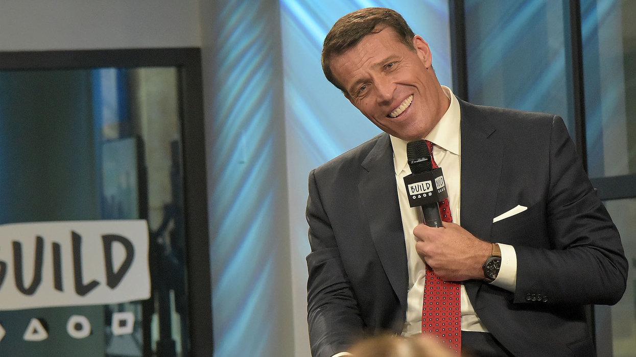 WATCH: Tony Robbins seen dancing, singing N-word repeatedly in old video presentation