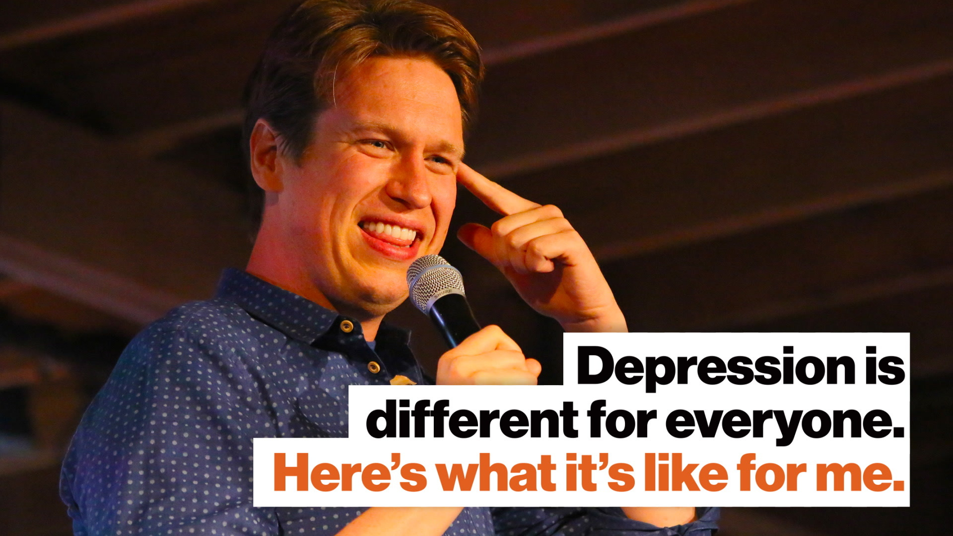 Depression is different for everyone. Here's what it's like for me.