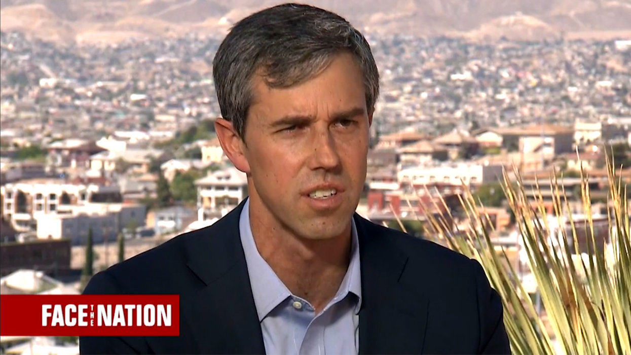 Beto O'Rourke accuses Trump of 'provoking another war' by sending troops to Middle East