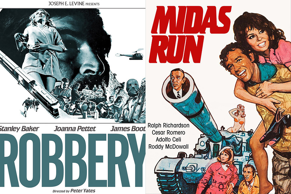 When Capers Were Mod: Heist Films  Robbery  and  Midas Run