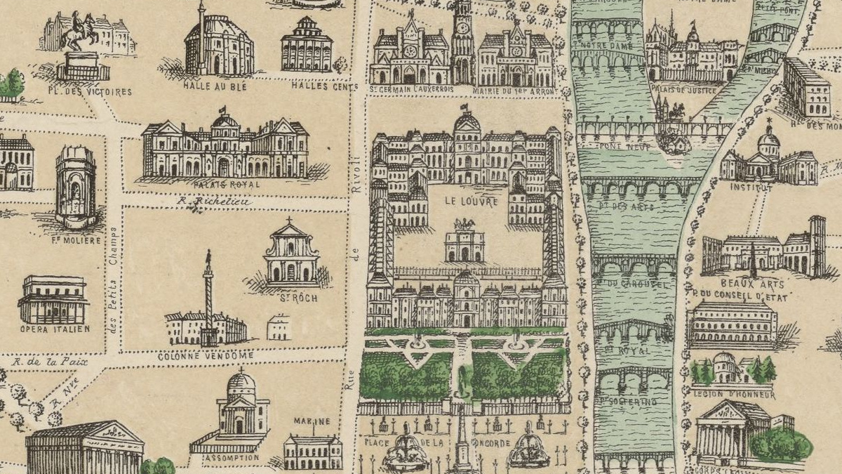 Paris, destroyed: A map of buildings lost to history