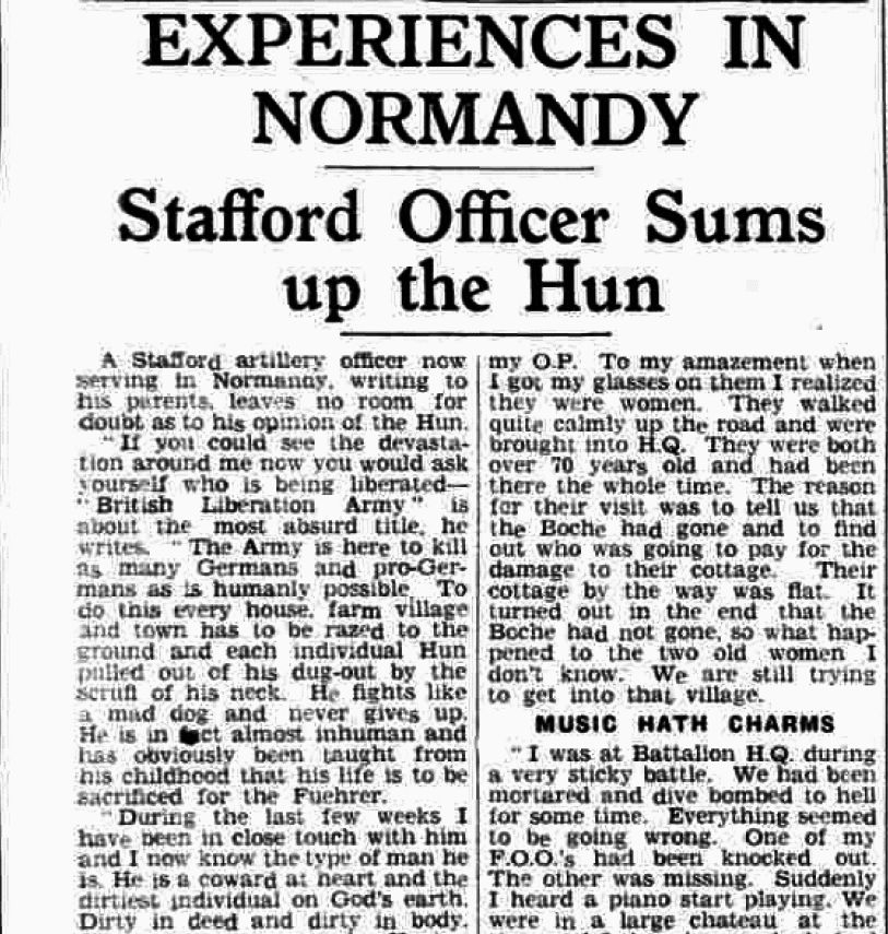 Staffordshire Advertiser, 5 August 1944