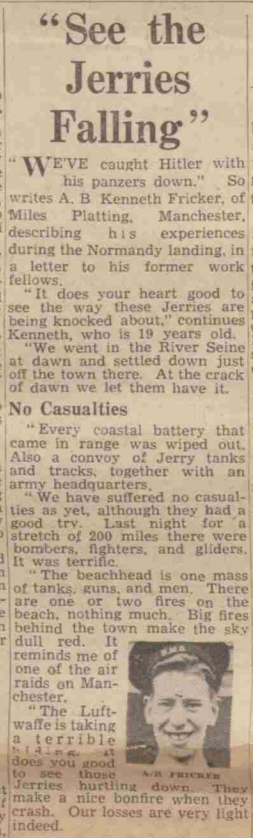 Manchester Evening News, 21 June 1944