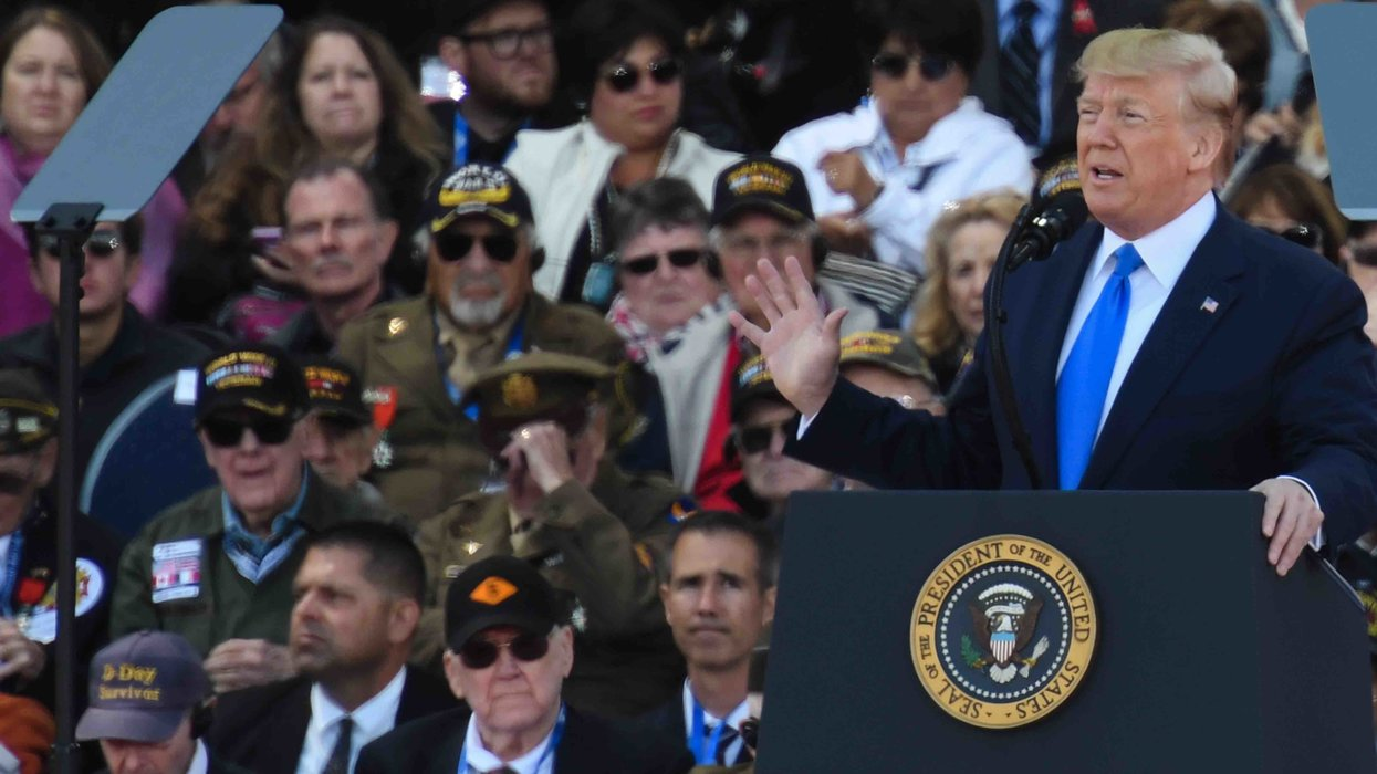 WATCH: President Trump's D-Day speech that floored Jim Acosta and Joe Scarborough