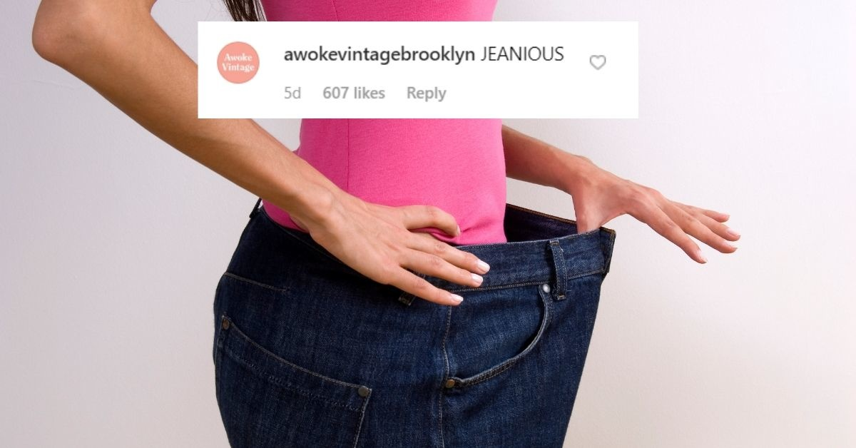 966ea95e Listen Up Ladies: This Genius Hack For High-Waisted Jeans That Are Too Big  Is Here To Save Your Wardrobe - Comic Sands