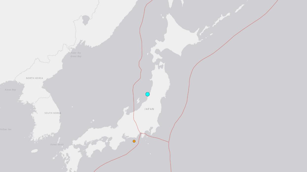 Officials announce tsunami alert after massive earthquake rocks Japan