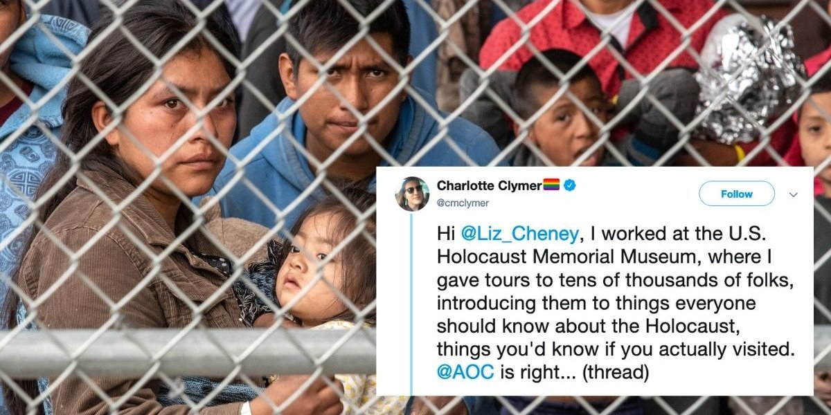 Powerful Thread Explains Why Alexandria Ocasio-Cortez Calling The Migrant Detention Centers 'Concentration Camps' Is Actually Quite Accurate