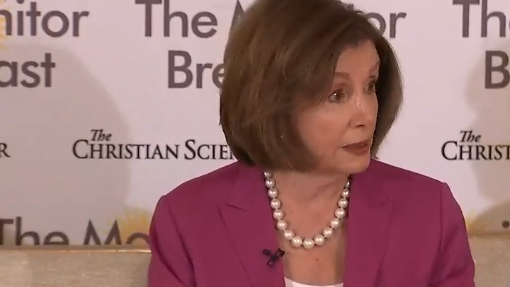 WATCH: Nancy Pelosi dodges when asked about AOC concentration camp remarks: Republicans 'will misrepresent anything'