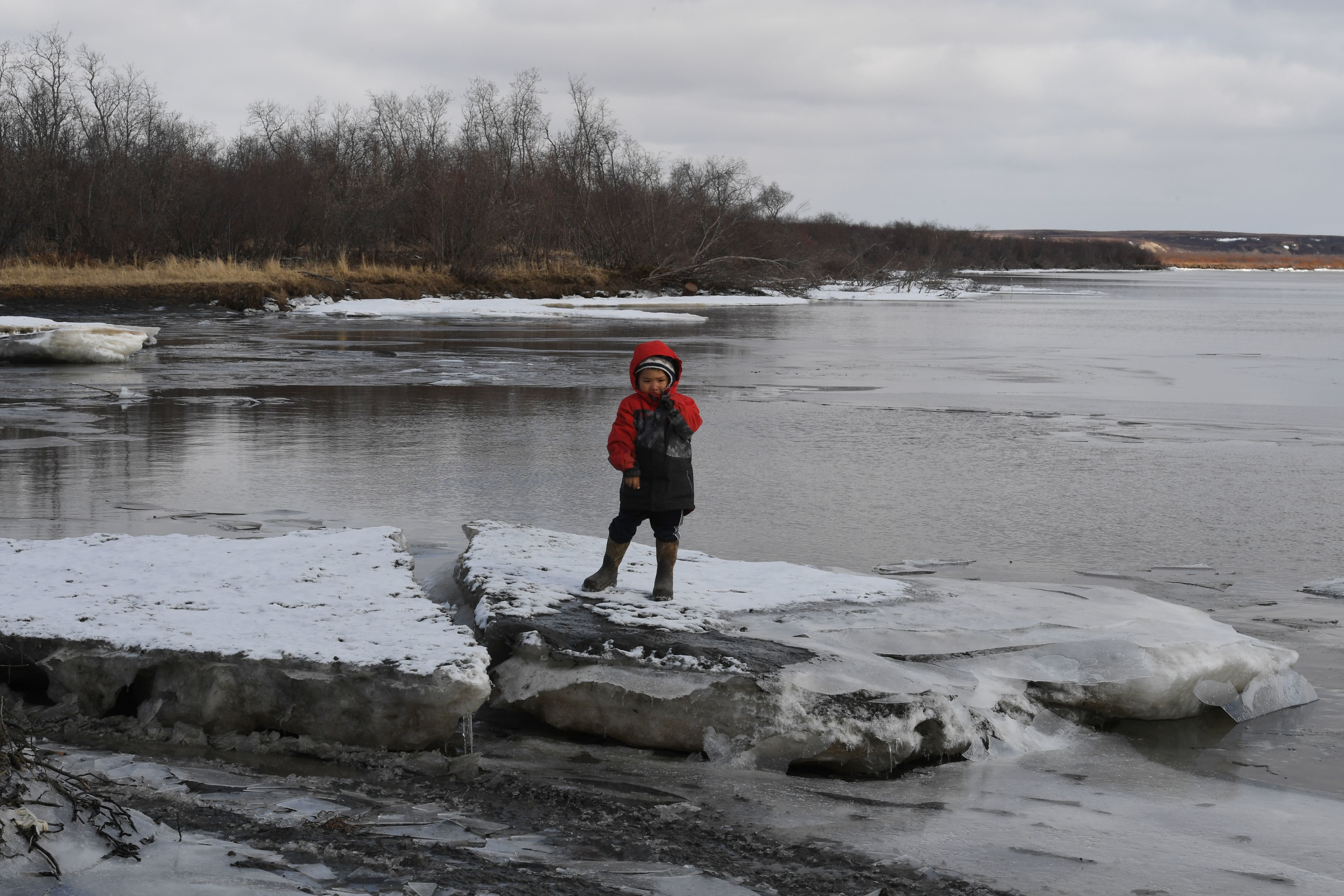 Permafrost is melting 70 years earlier than expected in Arctic Canada