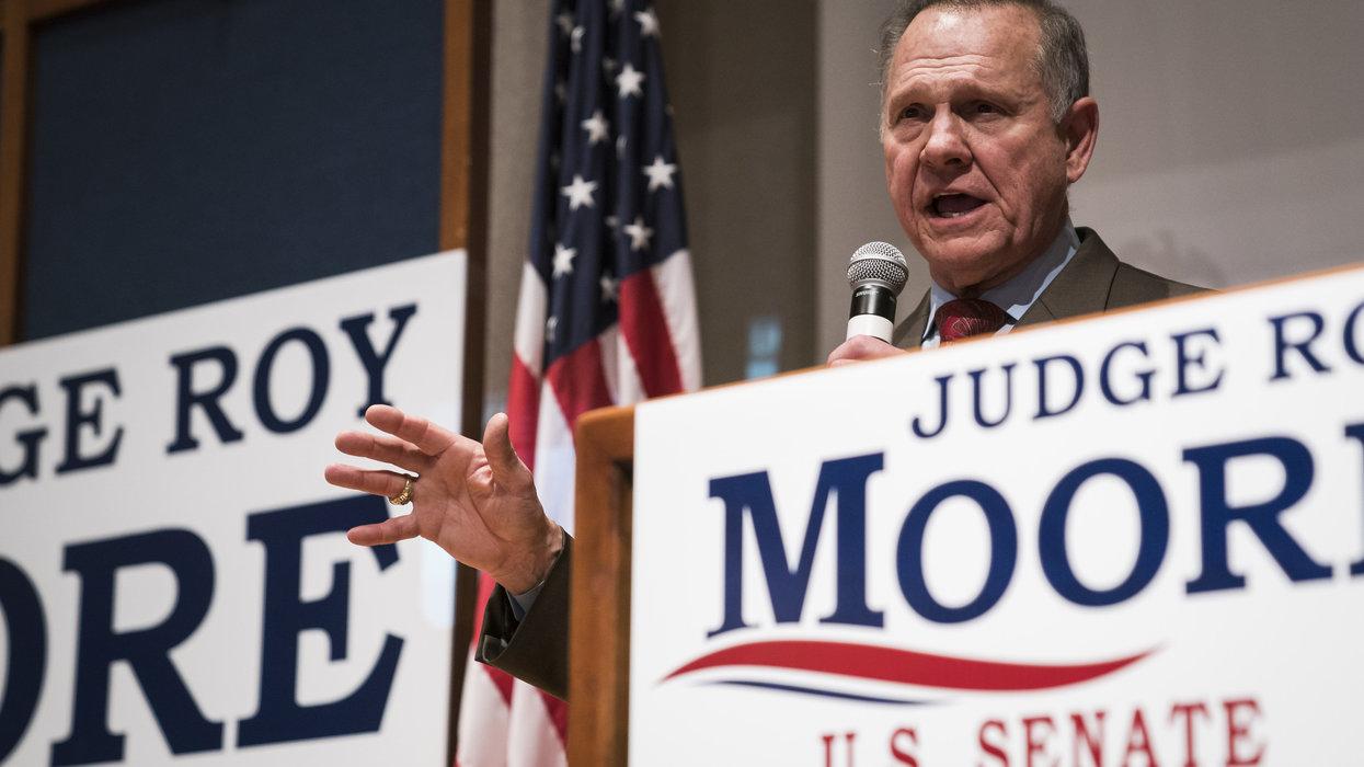 Roy Moore announces he's running for Senate again