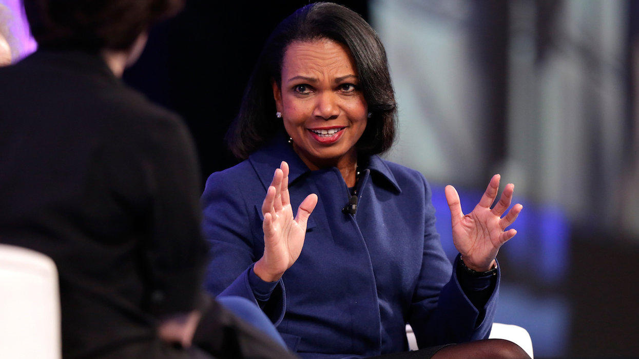 Condoleezza Rice disputes the narrative that race relations are worse under Trump