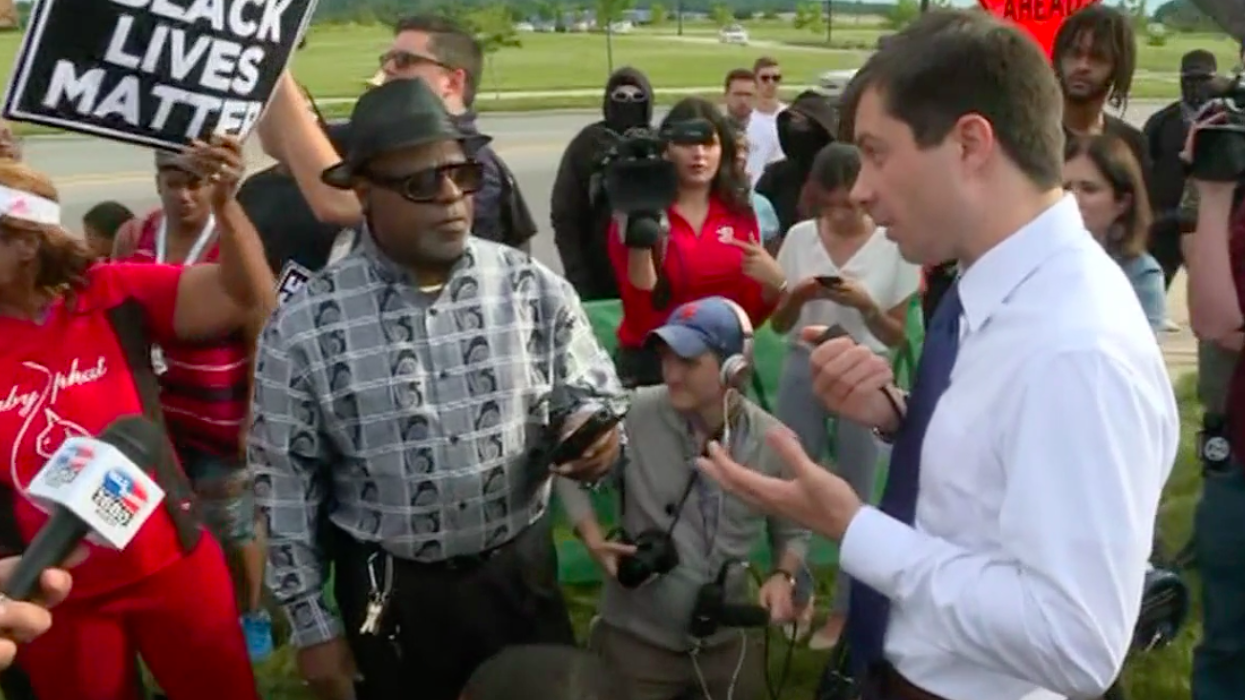 Pete Buttigieg gets in heated exchange with protester over police shooting: 'I'm not asking for your vote'