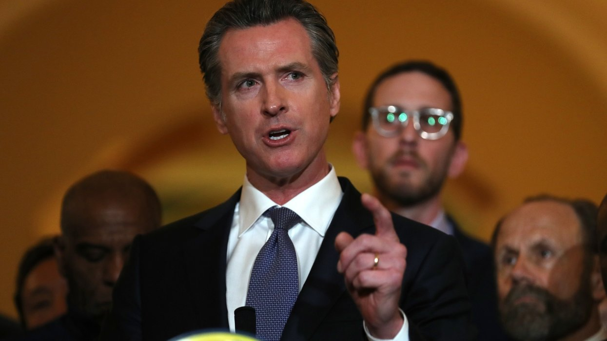California Gov. Newsom: toxic masculinity, xenophobia will lead GOP to become a third party