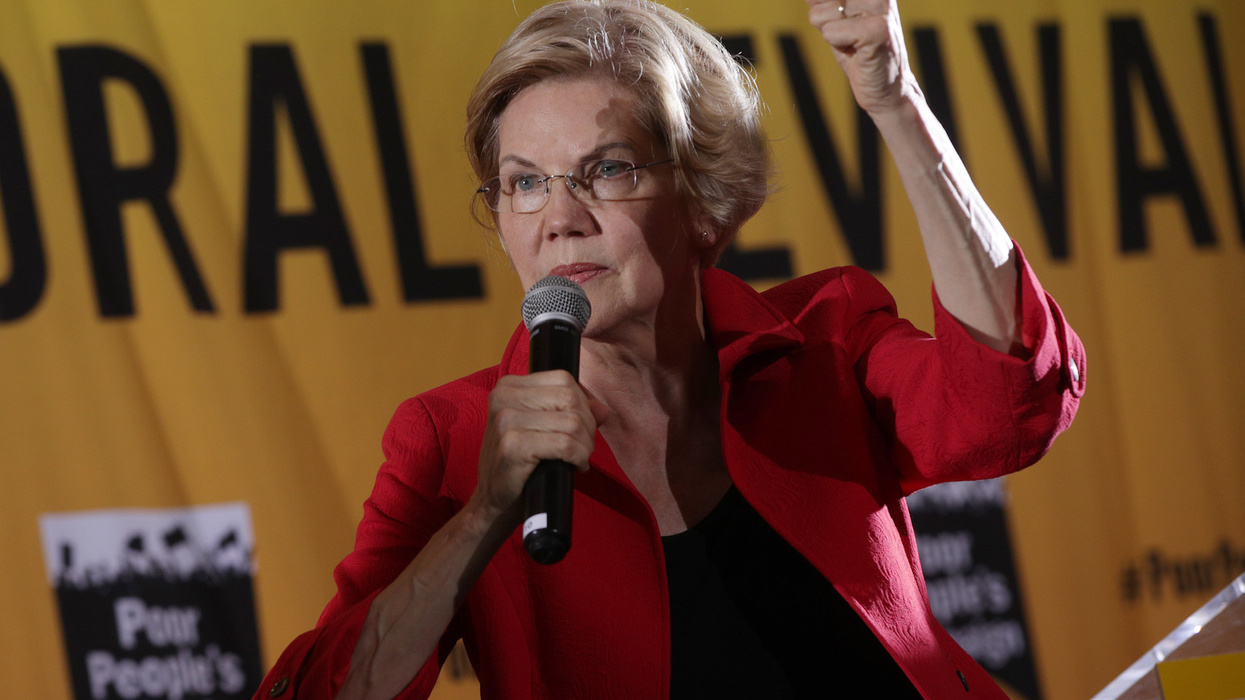 Elizabeth Warren celebrated her birthday at a Planned Parenthood abortion event