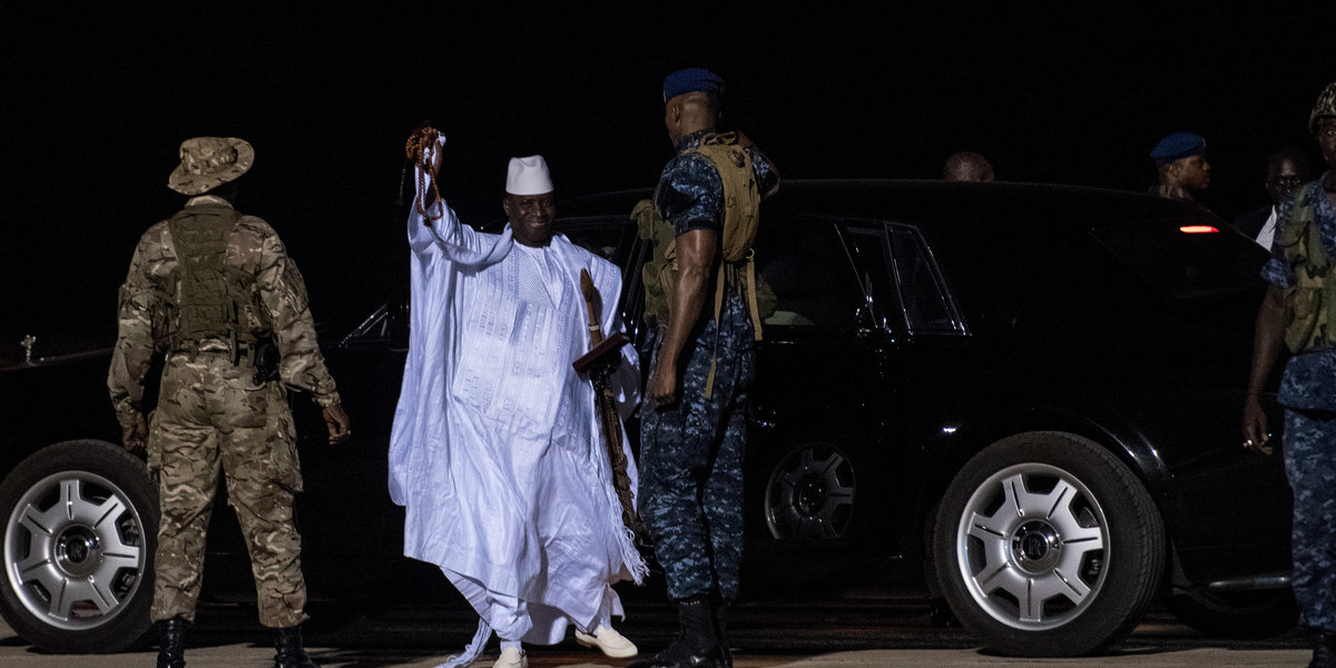 The Gambian Government Has Called on Women to Report Sexual Crimes Committed by Former President Yahya Jammeh