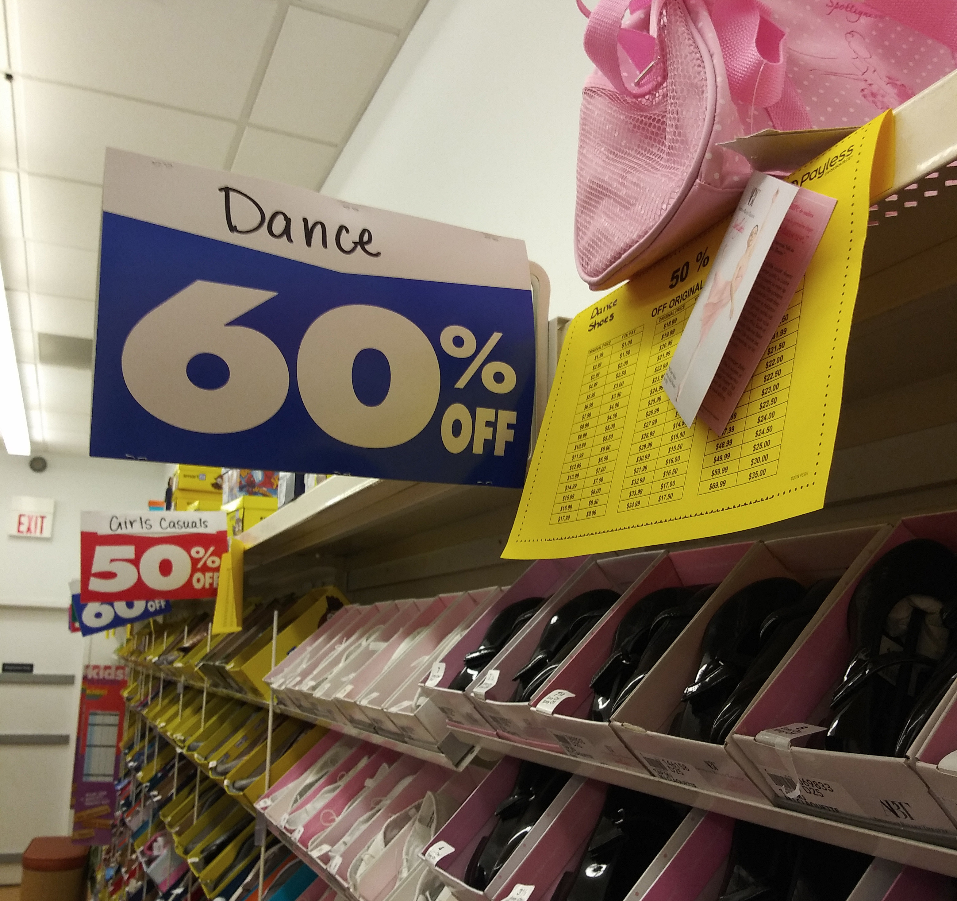 Payless Shoesource Ballet Shoes