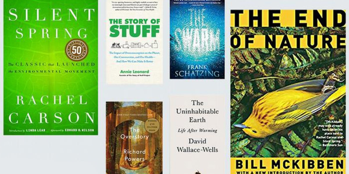 Summer Reading: Environment Books That Changed the World