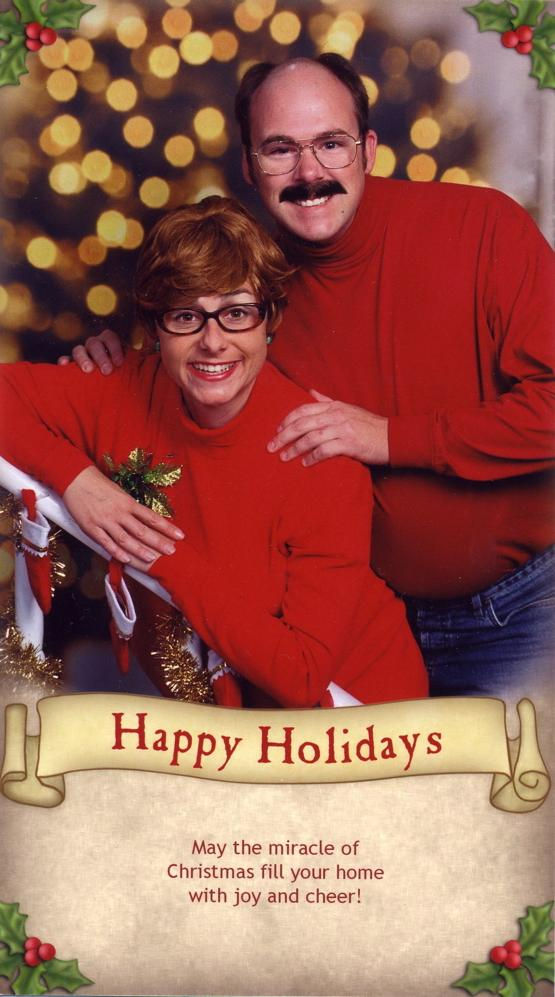 Bergeron Christmas Cards.A Collection Of The Bergeron Family S Funniest Holiday Cards