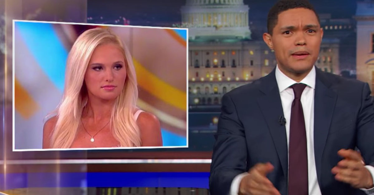 Trevor Noah Shows Support For Ostracized Conservative Tomi