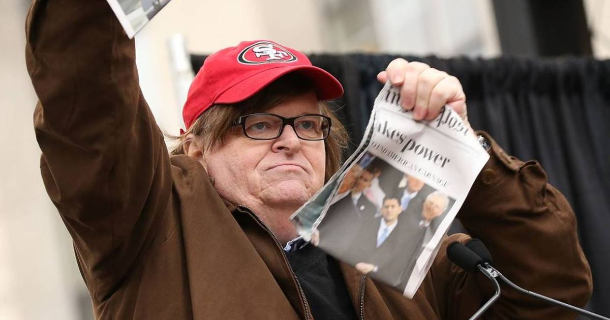 Michael Moore's New Website Gives Whistleblowers A Safe Way